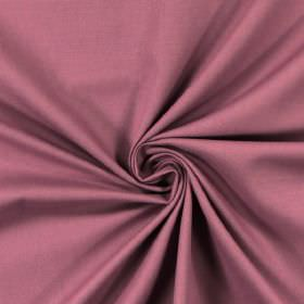 Panama - Heather - Cotton fabric in a plain, dusky purple colour