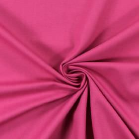 Panama - Fuchsia - Bright, light purple coloured fabric made from cotton