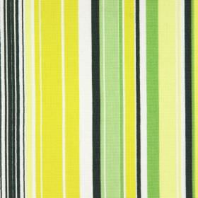 Allegra - Mimosa - Yellow, different shades of green and white making up this cotton fabric