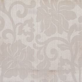 Newbury - Oatmeal - Oatmeal grey fabric with classic floral pattern
