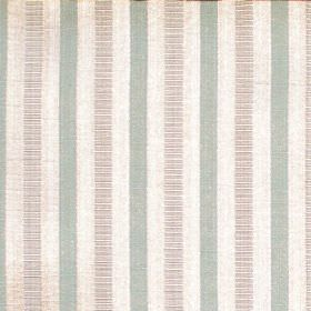 Stratford - Azure - Sandy fabric with azure blue stripes