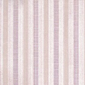 Stratford - Lavender - Lavender purple stripes on sandy fabric