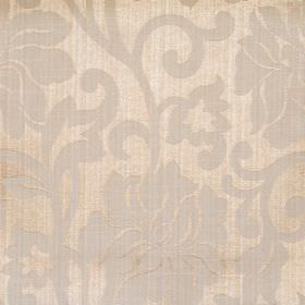Newbury - Sand - Sand colour fabric with classic floral pattern
