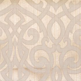 Salisbury - Sand - Sand coloured jacquard fabric with classic swirl pattern