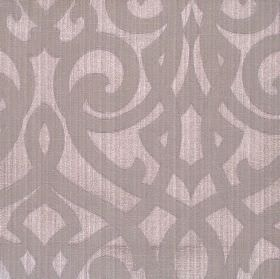 Salisbury - Lavender - Lavender purple jacquard fabric with classic swirl design