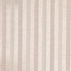 Stratford - Limestone - Limestone stripes on sandy fabric