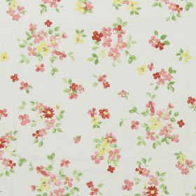 Posie - Chintz - Classic country chintz pink fabric with a pink floral pattern