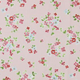 Posie - Vintage - Classic country vintage pink fabric with a pink floral pattern