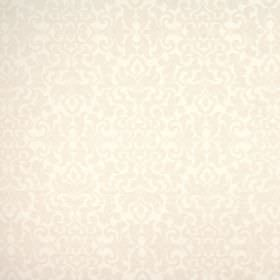 Damask - Ivory - Very subtly patterned fabric made from viscose, polyester and linen in very pale shades of grey and beige