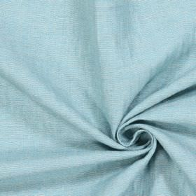 Chianti - Turquoise - Plain light turquoise coloured fabric