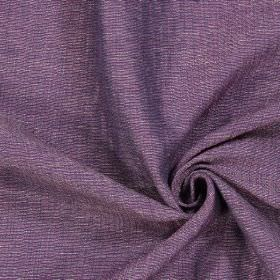 Chianti - Amethyst - Swatch of unpatterned dusky purple coloured fabric