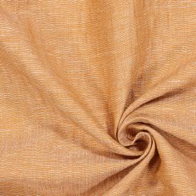Chianti - Tangerine - Swatch of light orange coloured fabric with a slight grey-brown tinge