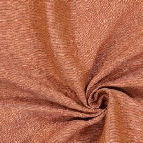 Chianti - Fire - Plain dusky red-grey coloured fabric