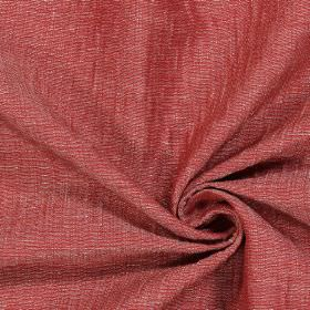Chianti - Spice - Scarlet coloured fabric with a light grey tinge