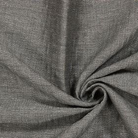 Chianti - Gunmetal - Sample of fabric in a dark grey colour without a pattern