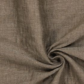 Chianti - Oak - Dark brown coloured fabric which has been woven with a little cream