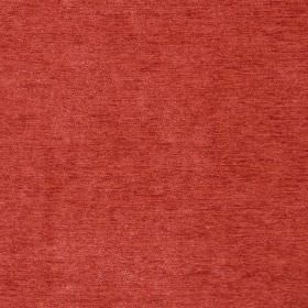 Classique - Tangerine - Tangerine orange plain velvet fabric