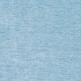 Classique - Azure - Light blue velvet plain fabric