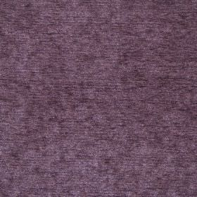 Classique - Damson - Dark purple plain velvet fabric