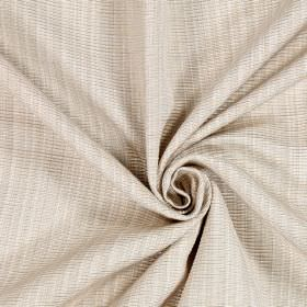 Adlington - Oyster - Fabric woven from light grey and white cotton threads