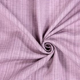 Adlington - Blush - Cotton fabric which has been woven with light pink and white