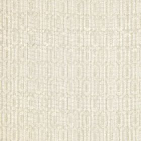 Witton - Linen - Off-white coloured woven cotton fabric which features some raised threads within a very subtle pattern