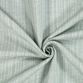 Adlington - Willow - Fabric woven from threads in white and fairly pale grey