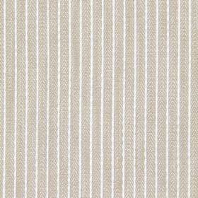 Dori - Linen - Linen brown fabric with narrow stripes