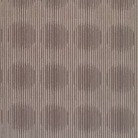 Spectrum - Mocha - Bulging dark brown lines resulting in a circle pattern on light brown fabric which is hard wearing