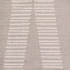 Zeta - Silver - Hard wearing fabric in two shades of beige, with a pattern of a series of short horizontal lines