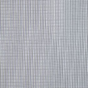 Mesh - Silver - Hard wearing fabric in light grey, printed with a small, simple grid with thin, dark grey lines