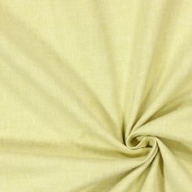 Abbey - Mimosa - Yellow fabric which appears to be in a very pale shade because it has been woven with white