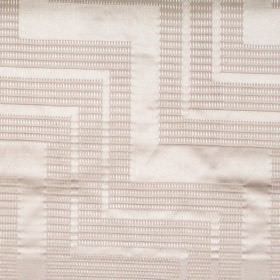 Ottavio - Roulette - Light sandy fabric with zigzag lines