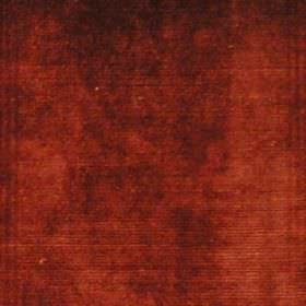 Sultan - Terracotta - Plain terracotta brown fabric