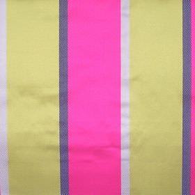 Tiara - Martini - Martini pink and green striped fabric