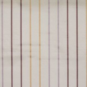 Tuxedo - Heliotrope - Heliotrope purple stripes on white fabric