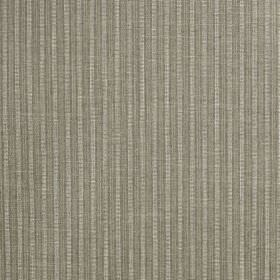 Gargrave - Limestone - Two similar shades of dove grey making up a narrow, simple vertical stripe design on fabric made from 100% polyester
