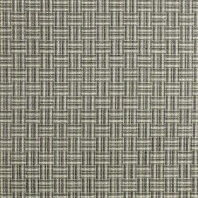 Grassington - Charcoal - A woven style pattern printed in light and dark shades of grey on fabric made from 100% polyester