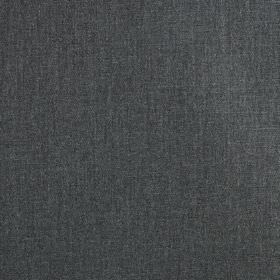 Settle - Charcoal - Dark shades of graphite grey and denim blue combined to create a plain, stylish fabric made from 100% polyester
