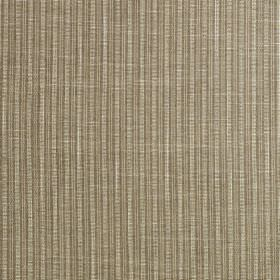 Gargrave - Hazelnut - 100% polyester fabric featuring a simple, subtle design of narrow vertical stripes in silver-grey and cement grey
