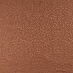 Ashburton - Paprika - Very subtly patterned rich reddish brown coloured fabric made from 100% cotton