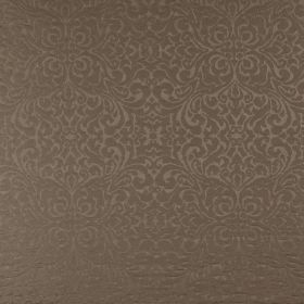 Ashburton - Sable - 100% cotton fabric made in dark cocoa brown, featuring a small, very subtle swirling pattern