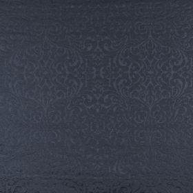 Ashburton - Navy - Elegant, sophisticated 100% cotton fabric featuring a very subtle swirling pattern in classic midnight blue