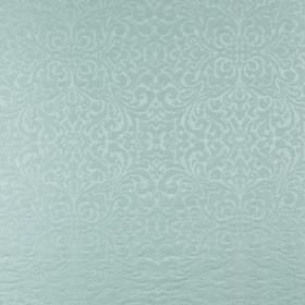Ashburton - Azure - Powder blue coloured fabric made from very subtly patterned 100% cotton