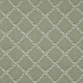 Charlbury - Linen - 100% cotton fabric made with a plain background and a grid pattern featuring subtle flecks, in 2 similar shades of grey