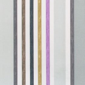 Minster - Dusk - Dusk purple and grey striped fabric