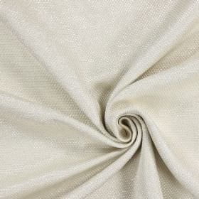 Night Time - Ecru - White and cream coloured hard wearing fabric which has a very slight texture due to being woven with thick threads