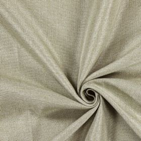 Moonbeam - Flax - Hard wearing fabric which is cream-grey in colour