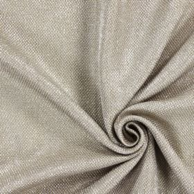 Night Time - Linen - Thick threads of white and light brown woven into hard wearing fabric
