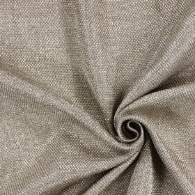 Night Time - Mushroom - Fabric which is hard wearing, made up of thick threads in brown and white